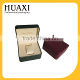 Guangzhou custom made plastic watch case watch packaging box                                                                                                         Supplier's Choice