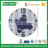 Decorative Custom Wooden Hand Painted Kids Wooden Wall Clock                                                                         Quality Choice