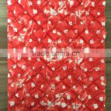 quilting fabric,100% polyester printing embroidered fabric, thermal fabric for down coat,jacket and garment