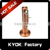 KYOK 28mm curtain bracket matt black extendable, diamante sphere metal adjustable curtain pole wall brackets fixings