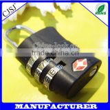 High Quality China Supplier Factory Direct tsa baggage lock /combination lock /Luggage lock TSA approved