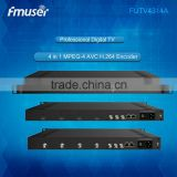 FUTV4314A HDMI in SDI 4CH in 1 MPEG-4 AVC/H.264 HD Encoder
