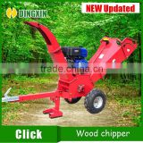 2016 new design ATV garden wood chipper shredder with 15hp petrol engine                                                                                                         Supplier's Choice