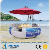 Entertainment BBQ donut boat with electric motor, Water Bumper Boat, New Water Donut Bbq Boat