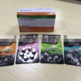 Free Mercury Non-mercury Hearing aid battery 1.4v zinc air button cell battery A10 A13 A675 A312 from Eunicell brand