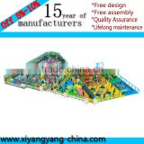 Indoor Plastic Play House Used Indoor Soft Play equipment