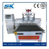 3 axis cnc wood machine cabinet/stair railing carving machine 3D model with DSP control cnc router machine