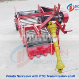 mini potato harvester with walking tractor for sale