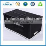 Custom ESD / conductive corrugated box, PCB container, Antistatics packaging boxes esd corrugated box for electronic items