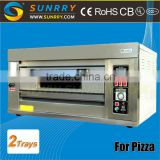2015 New single deck commercial stone gas fired pizza oven used for hotel & Restaurant                                                                         Quality Choice