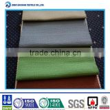 Polyester fire resistant fabrics in furniture making