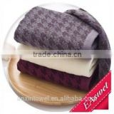 China wholesale bamboo fiber towel with swallow patterns