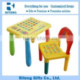 2016 Hot Sale Promotional Children Table And Chair Set Toys Baby Dining Children Plastic Table And Chair