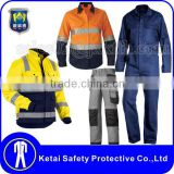 Newest Design Safety Mechanic Overall Uniforms Safety Work Clothes                                                                         Quality Choice