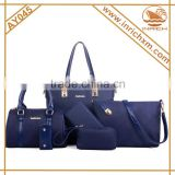 New arrival handbags set 6pcs in 1 set new style ladies handbag set                                                                         Quality Choice