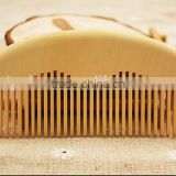 Wholesale wooden combs sandal wood comb for hair, natural hair care healthy wooden products, brush for hair wood comb