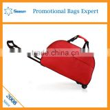 Travel bag on wheels travel trolley luggage bag
