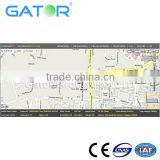 GPS tracking system GS102 for boat and fleet management support many kinds of reports