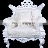 Single Sofa Chair 1 Seater - Sofa Single Chair in Living Room Chairs - Single Chair with Suede Fabric