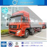 Dongfeng 4 axles oil truck sale in Russia 8*4 capacity fuel tank truck RHD or LHD oil storage tank