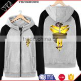 Men's fleece jacket of new fund of 2016 autumn outfit set men hooded loose women who clothes
