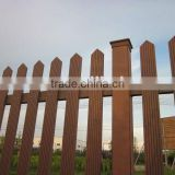 cheap design wood fence-railing system