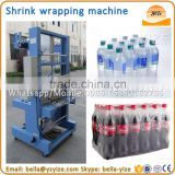 Bottle thermal shrink packing machine to pack plastic bottles beer can glass bottle and beverage bottles