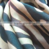 Polyester satin chiffon water repellent satin chiffon fabric flower printed chiffon fabric for european buyer of garments