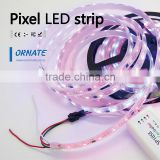 holiday time christmas lights led power supply 5v 12v magic digital dream color rgb led strip