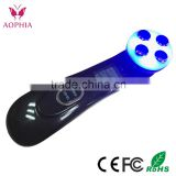 Portable Body Massager Led Skin Rejuvenation/Red+ Blue +infrared Light Therapy face and body lifting beauty machine