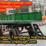 7C series of farm trailer-four wheels about hydraulic dump trailer parts