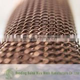 Latest chain link fence with pre-woven decorative privacy fence slats