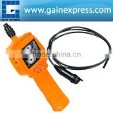 Industrial Endoscope 9mm HD Monitor Video Inspection Camera 1m Cable Borecope 4 LED Plumbing Sewer Snakescope