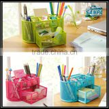 2016 Colorful Wire Mesh Desk Organizer
