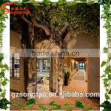 Artificial tree interior decorative artificial tree hole