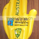 Giant cheering infltable palm inflatable hand