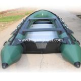 Cheap Custom PVC Inflatable Boat with Outboard Motor