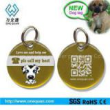 Dog Tag With Key Ring