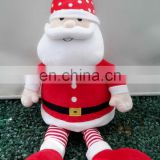 santa claus indoor christmas toy Christmas Gift stuffed animal toy