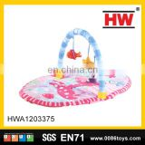 Hot sale folding gym type the cartoon play toys baby activity mat