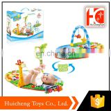 wholesale toys eco friendly baby care gym/baby play mat with different shape