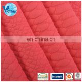 Hot Sale Victorytex Knitted Jacquard Fabric Air Layer for Clothing Required