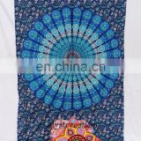 Indian Hippie Wall Hanging Mandala Tapestry ikat Throw Ethnic Bedspread online sale at competitive price 2015