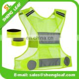 High Visibility reflective safety vest ,reflective vest for running or cycling