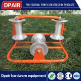 cable laying guide wheel wire sliding roller skating