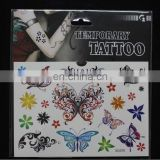 Butterfly decorative tattoo sticker
