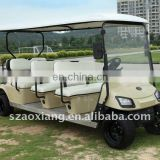 Luxury 3KW 48V Electric Tourist Car, 12 Seater Tourist Car for 26TH Summer Universiade| CE Certified | AX-B9+3