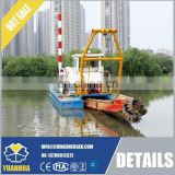 12 inch Hydraulic cutter suction dredger with spud carriage system