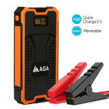 8000mAh portable jump starter with for Car/ smart phone, digital camera, tablet PC