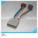 Car auto electric stereo radio player iso male female plug wire harness adaptor plug for Ford